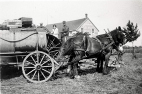 Delivering Water to Steam Engine